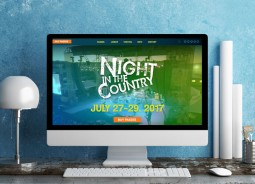 Night in the Country Website Redesign